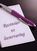 recensies vs leeservaring