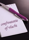 confrontatie of een vlucht