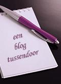 een blog tussendoor