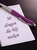30 dingen die blij maken
