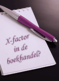 x-factor on de boekhandel