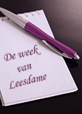 De week van Leesdame