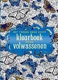 het tweede enige echte kleurboek voor volwassenen cover