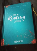 my reading journal cover