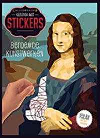 kleuren met stickers cover